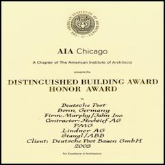 Honor Award AIA 2003